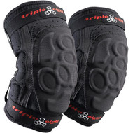 Triple 8 Elbow Pads ExoSkin Black Large