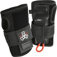 Triple 8 Wrist Guards Roller Derby Wristsaver Black Small