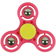 Fidget Spinner Pink/Yellow