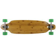 Moose Longboard 36 Bamboo Bottom Drop Thru / Bigfoot Boho Green