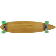 "Moose Longboard 43"" Bamboo Pintail / Bigfoot Boho Green"
