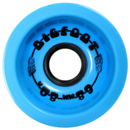 Bigfoot Wheel - 68mm 80a Boardwalks Blue