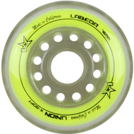 Labeda Hockey Wheel Union X-Soft Yellow 76mm