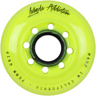 Labeda Hockey Wheel Addiction Grip Yellow 76mm