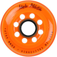 Labeda Hockey Wheel Addiction Grip+ Orange 80mm