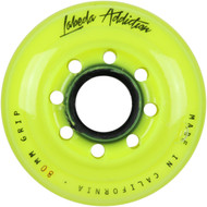 Labeda Hockey Wheel Addiction Grip Yellow 80mm