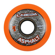 Labeda Hockey Wheel Asphalt Gripper 85A Orange 68mm