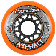 Labeda Hockey Wheel Asphalt Gripper 85A Orange 76mm