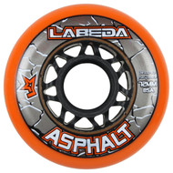 Labeda Hockey Wheel Asphalt Gripper 85A Orange 72mm