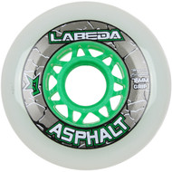 Labeda Hockey Wheel Asphalt Gripper 83A White 76mm