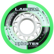Labeda Hockey Wheel Shooter All Purpose Green 72mm