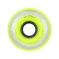 Labeda Hockey Wheel Millennium Gripper X-Soft Yellow 72mm