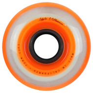 Labeda Hockey Wheel Millennium Gripper Soft Orange 72mm