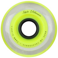 Labeda Hockey Wheel Millennium Gripper X-Soft Yellow 76mm