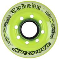 Labeda Hockey Wheel Addiction XXX Grip Yellow/White 72mm