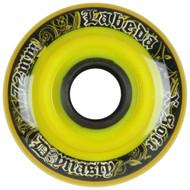 Labeda Hockey Wheel Dynasty 3 X-Soft Black/Yellow Paisley 72mm