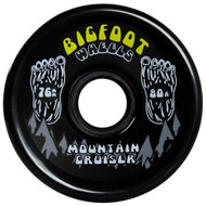 Bigfoot Wheel - 76mm 80a Mountain Cruisers Black