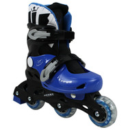 Krown Superspeed Adjustable Inline Skates Boys Size S (Y13 - 3)