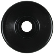 Quad Skate Wheel House Black 62mm 32mm 99a