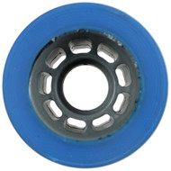 Quad Skate Wheel House Blue 59mm x 39mm 89a