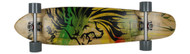 "Bustin Boards Longboard Burning Spear Kicktail 9.3"" x 40"" Caliber / Luv Yo Mutha"