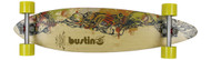 "Bustin Boards Longboard Fire & Water 36 Pintail 8.7"" x 36"" Caliber / Sector 9"