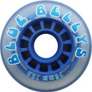 Inline Wheel - BLUE BELLYS 76mm 78a