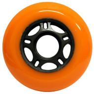 Inline Wheel - Orange / Black 80mm 89a