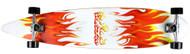 Krown - Pin Tail Red/White Flame