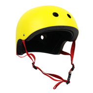 Krown Adult Solid Helmet OSFA Yellow