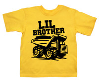 LIL brother dump truck tshirt