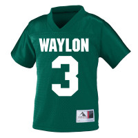 Personalized custom name and number jersey | Fresh Frog Tees