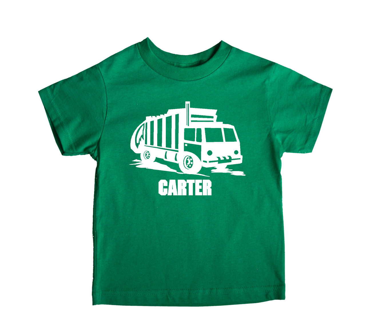 Garbage recycling truck party shirt