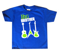 big brother guitar tshirt