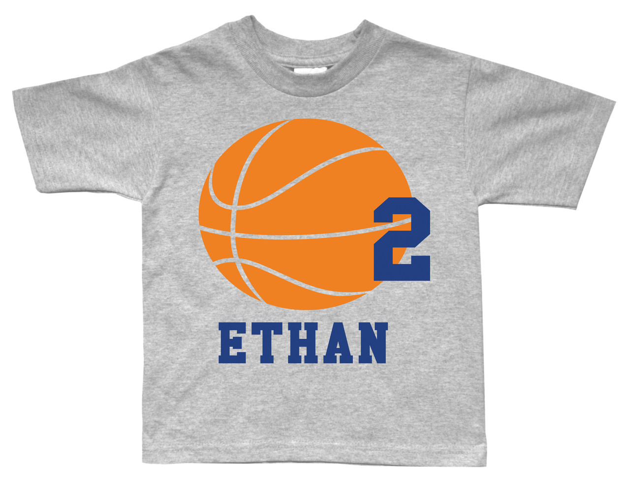 Basketball theme birthday party tshirt