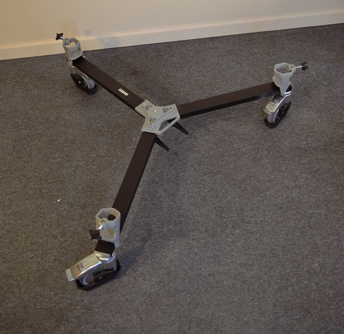 Tripod Dolly for Laser Scanning
