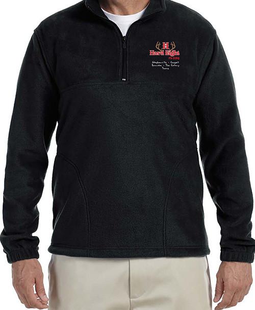 Black Fleece Pullover, Long Sleeve