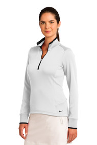 Nike Golf Ladies Dri-FIT 1/2-Zip Cover-Up with Logo