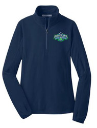 Ladies Microfleece 1/2-Zip Pullover 2