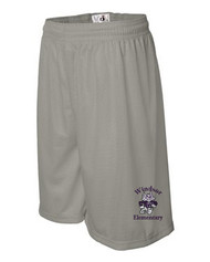 WPTO-7211 Adult 11'' Mesh Inseam Shorts