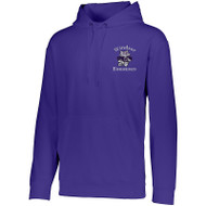 WPTO-5505-06 Wicking Fleece Hooded Sweatshirt