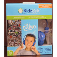 Kidz Safe My Design Headphones Earphones Blue KS-2013-BDIY-ROH - EE672824