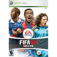 FIFA 08 For Xbox 360 Soccer With Manual and Case - EE672863