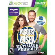 The Biggest Loser Ultimate Workout For Xbox 360 Music With Manual And - EE672876