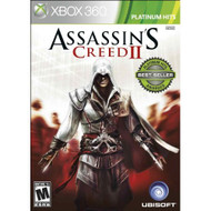 Assassin's Creed II: Platinum Hits Edition For Xbox 360 With Manual - EE672946