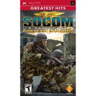 Socom US Navy Seals Fireteam Bravo 2 Sony For PSP UMD Shooter With - EE673015