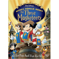 The Three Musketeers On DVD With Wayne Allwine 3 Disney - EE673016