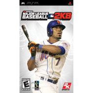 Major League Baseball 2K8 Sony For PSP UMD With Manual And Case - EE673036