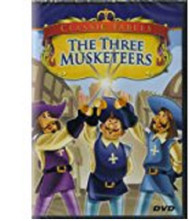 Classic Fables-The Three Musketeers On DVD 3 Anime - EE673102