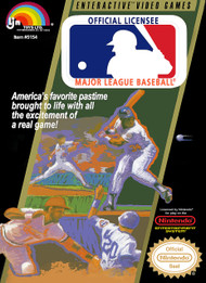 Major League Baseball For Nintendo NES Vintage - EE673355